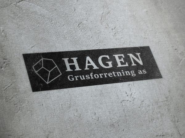 Logo Hagen Grusforretning AS