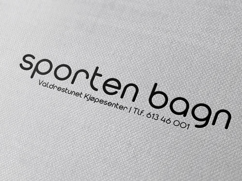 Sporten Bagn AS, logo