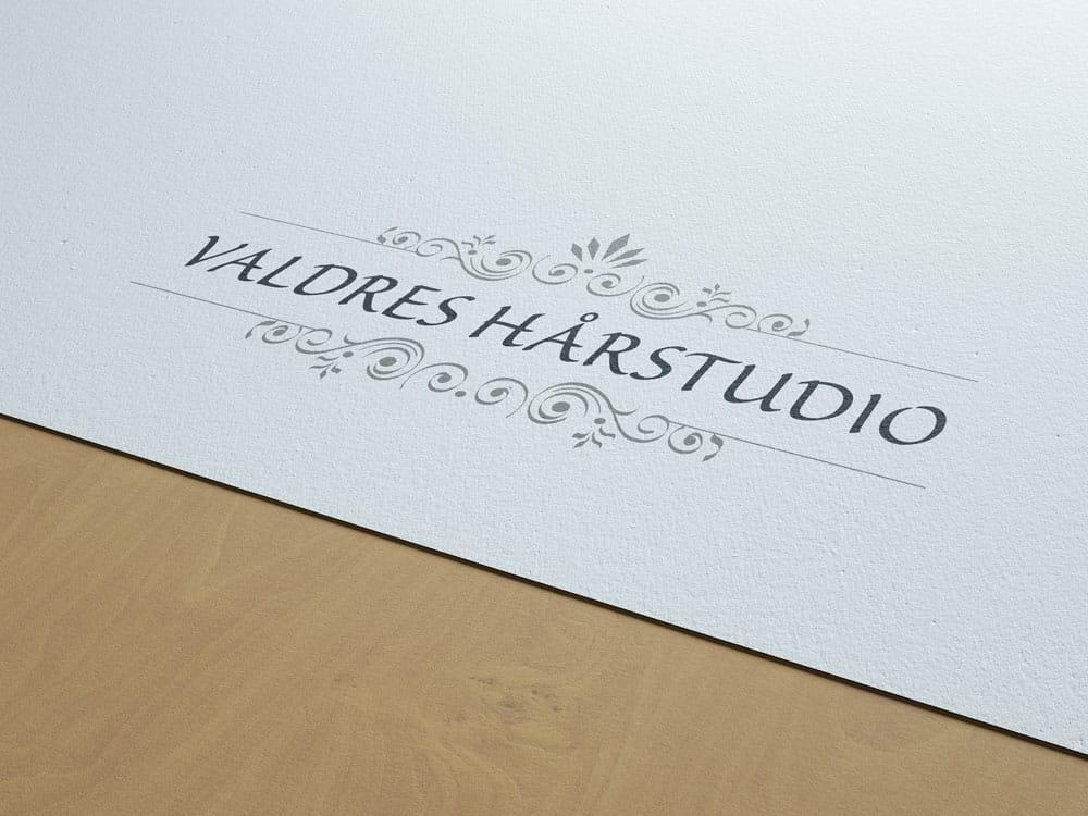 Valdres Hårstudio logo