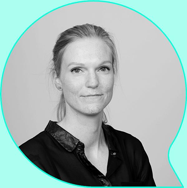 Elin Spildrejorde Tystad, grafisk designer i TALA