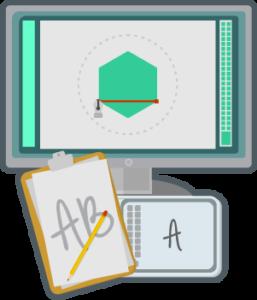 Grafisk design, og logo med visuell profil