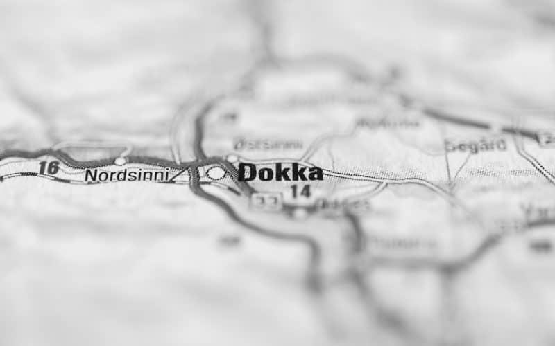 Hjemmeside i Land og Dokka