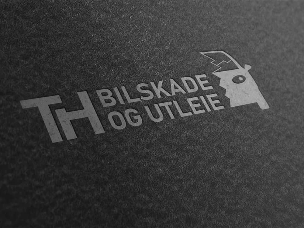 TH Bilskade og Utleie AS logomockup