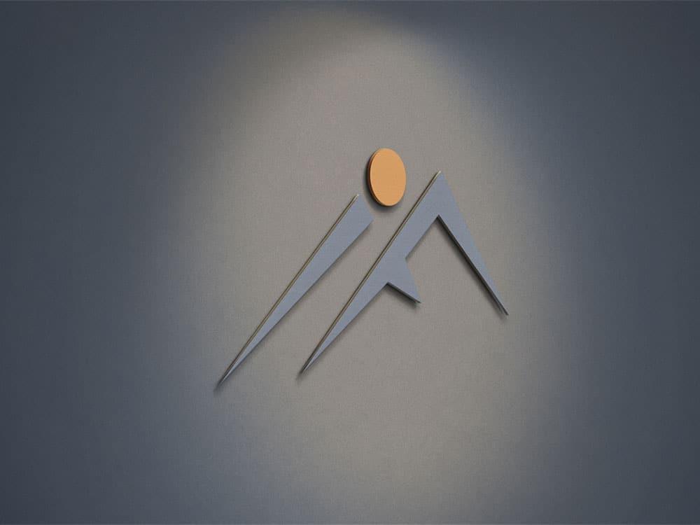 Logoikon-på-vegg-referanse-innlandet fjellhytter