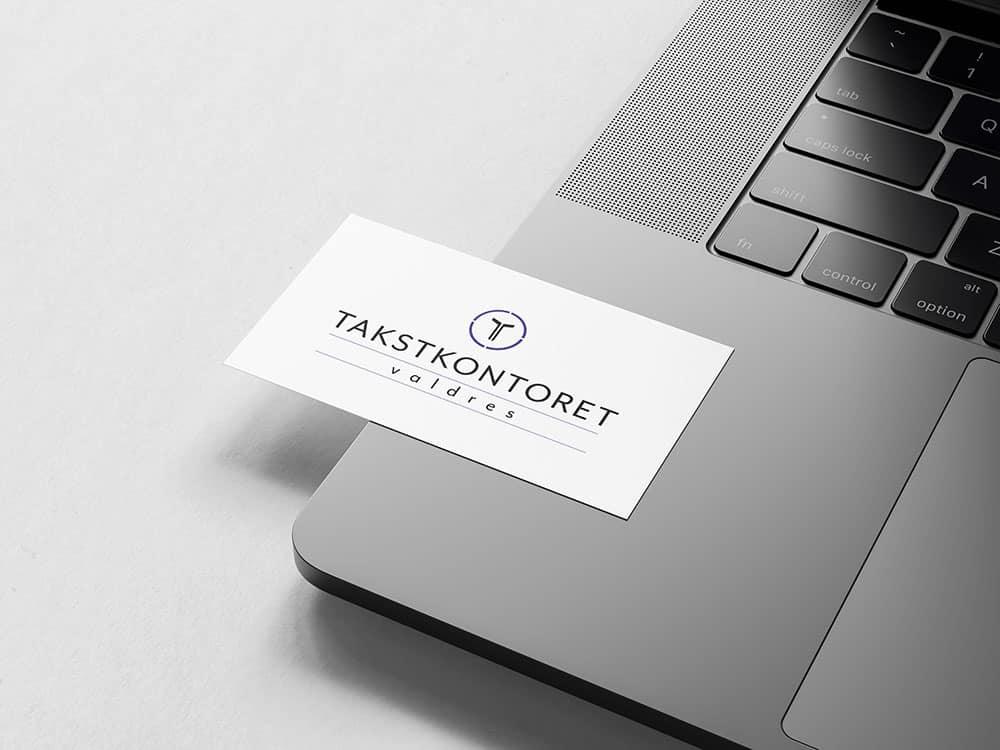 Takstkontoret, mockup av logo