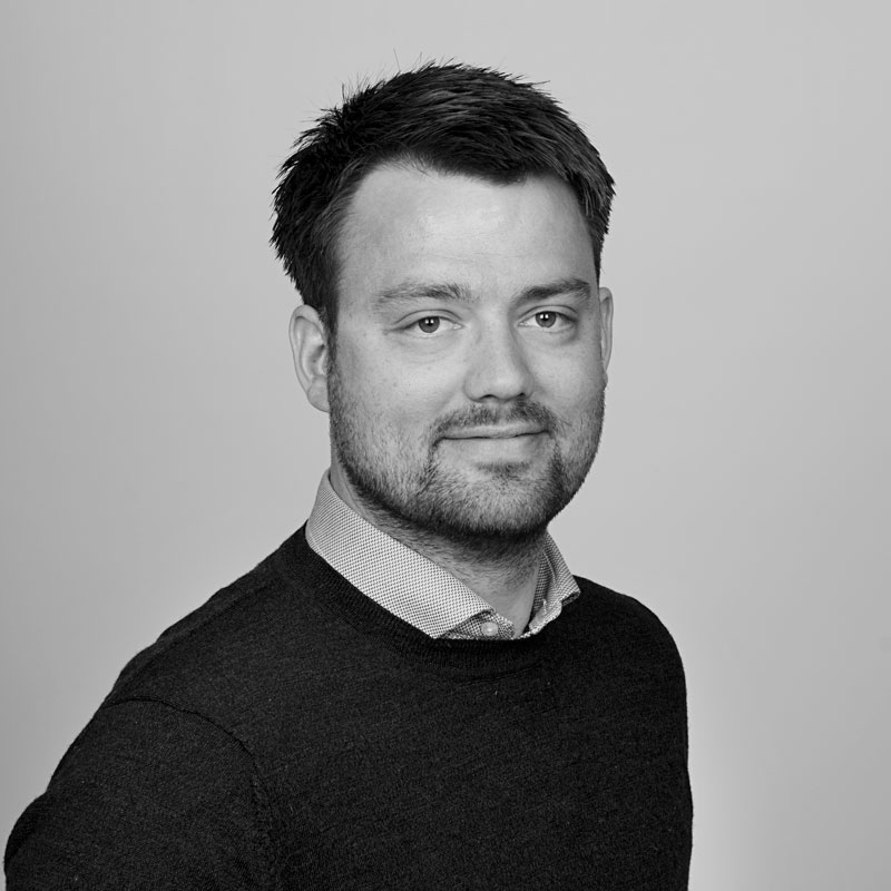Simen Valdemar Thorsrud, daglig leder og webdesign