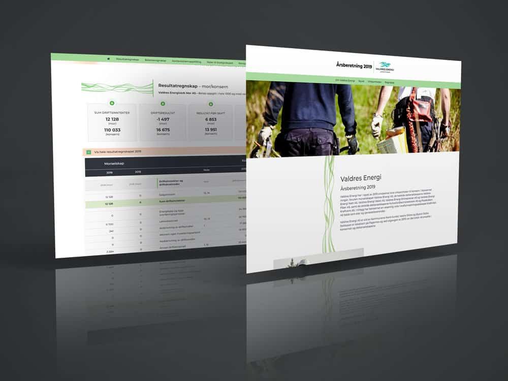 Digital årsberetning – Valdres Energi