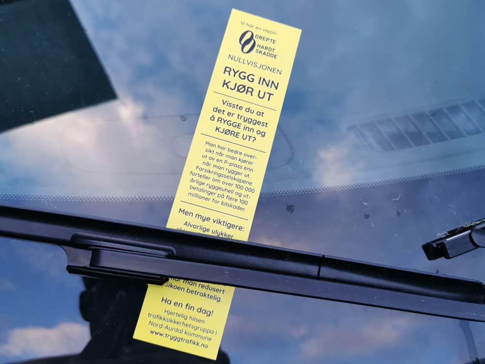Parkeringsbot etterligning