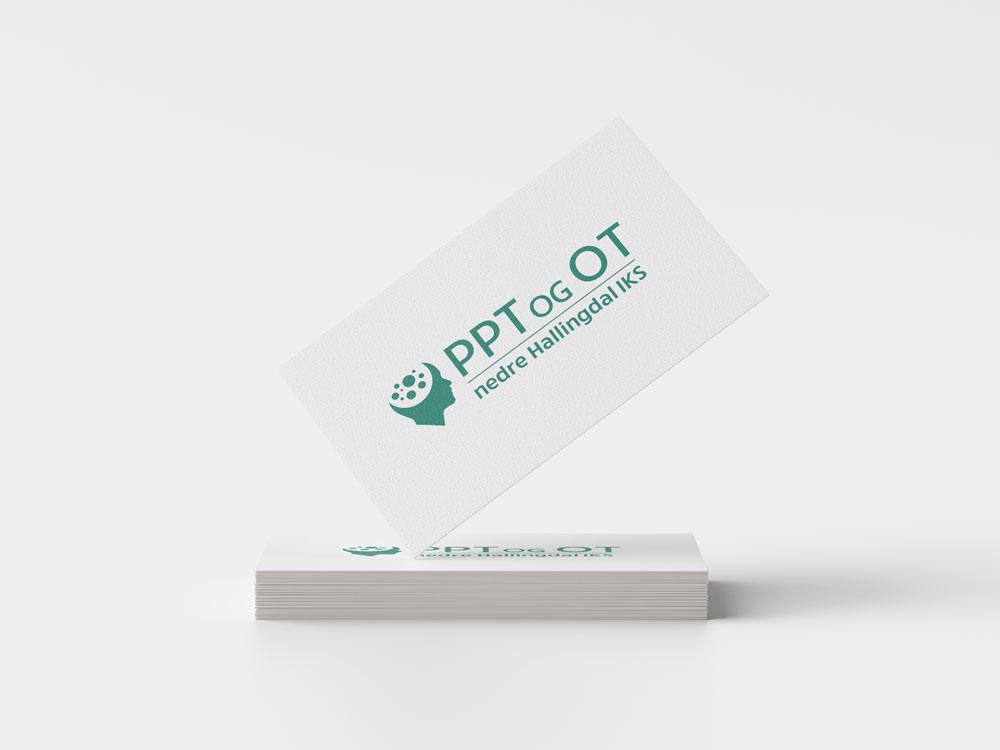 PPT og OT i Nedre Hallingdal, logodesign
