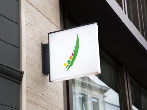 Hallingdal Asiabutikk logo -Skilt-med-sukkerertikon