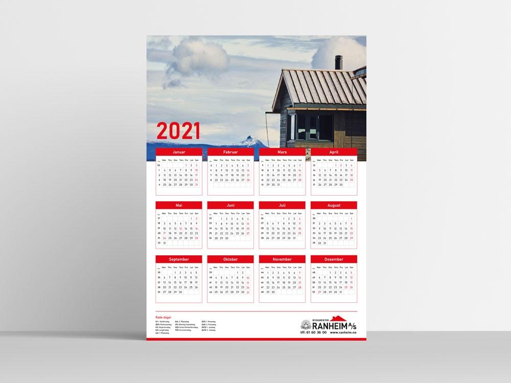 Kalender Byggmester Ranheim