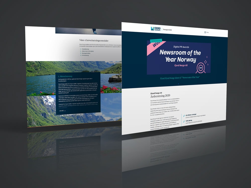 Fjord-Norge-aarsberetning
